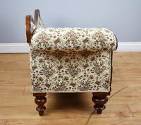 Small Victorian Mahogany Chaise Longue (3 of 8)