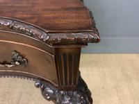 Chippendale Style Mahogany Console Table (6 of 16)