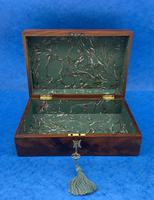 Georgian Flame Mahogany Box c.1820 (10 of 10)