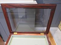 Superb Hand Carved Solid Mahogany Bijouterie Vitrine (6 of 9)
