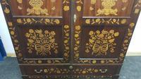 18th / 19th Century Inlaid Dutch Wardrobe (8 of 17)