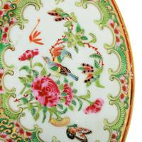19th Century Chinese Canton Plate (8 of 8)