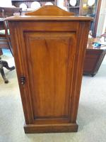 Edwardian Satin Walnut Bedside Cabinet