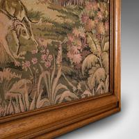 Large Antique Panoramic Tapestry, French, Needlepoint, Decorative Panel c.1910 (11 of 12)