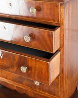 19th Century Mahogany Miniature Chest of Drawers (2 of 5)