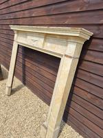 19th Century Wood Fire Surround Painted in Faux Marble (3 of 3)
