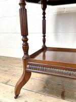 Late Victorian Walnut Octagonal Centre Table (7 of 10)