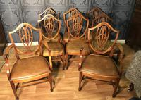 Quality Set of Eight Mahogany Dining Chairs (14 of 18)