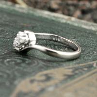 The Toi Et Moi Dial Old European Cut Vintage Diamond Ring (5 of 7)