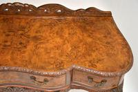 Queen Anne Style Burr Walnut Server Table c.1930 (12 of 12)