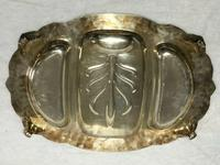 Fine Large English Georgian Revival Silver Plate Acanthus Repousse Meat Salver (7 of 12)