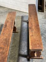 French Farmhouse Dining Table & Benches Set (5 of 33)