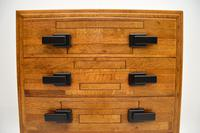Art Deco Solid Oak Chest of Drawers (7 of 12)