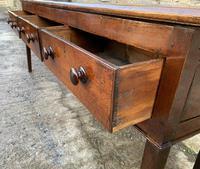 Large Antique Elm Dresser Base (10 of 21)