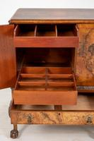 Stunning Walnut 3 Door Side Cabinet (7 of 9)
