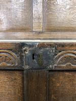 Early 19th Century Antique Oak Coffer Blanket Box (17 of 19)