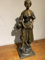 Spelter Figure of a Water Carrier (2 of 6)