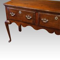 Antique Oak Cabriole Leg Dresser (3 of 9)