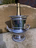 Sheffield Plate Wine Cooler by Fortnum & Masons (4 of 5)