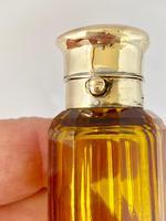 Rare Gold Mounted Sampson Mordan Amber Perfume Scent Bottle (8 of 10)