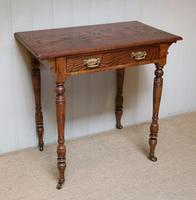 Late 19th Century Ash Side Table (2 of 10)