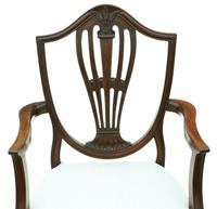 Georgian fine quality set of 8 mahogany dining chairs c.1800 (7 of 11)