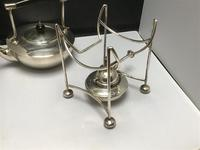 Solid Silver Spirit Kettle Dresser Style (6 of 13)