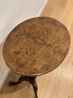 Victorian Walnut Tripod Table (2 of 10)