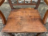 Antique Country Oak Armchair (5 of 14)