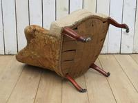 Antique French Tub Chair For Re-upholstery (7 of 8)