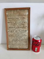 Antique Theatre Poster 1817 was the English Opera House, Now Lyceum, London Rare (7 of 7)