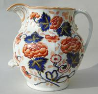 Antique Very Large Staffordshire Stone China Jug (12 of 12)