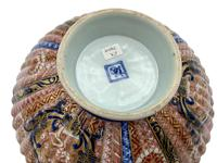 Antique Oriental Imari Porcelain Pedestal Dish c.1870 (5 of 8)