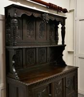 Early 18th Century Carved Oak Buffet Sideboard Dresser (5 of 14)