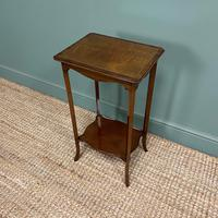 Superb Quality Mahogany Wine Table / Lamp Table by John Taylor (4 of 6)