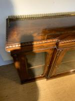Rosewood Breakfront Bookcase (3 of 15)