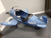 Airflow Collectibles inc. Child's A22 Navy Pedal Aeroplane (2 of 9)