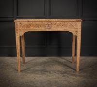 Raw Oak Sandblasted Side Table (7 of 11)