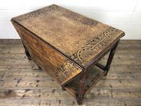 Early 20th Century Oak Gateleg Table (6 of 12)