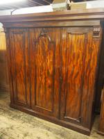 Victorian Mahogany 3 Door Wardrobe (2 of 8)