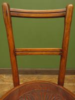 Unusual Antique Bentwood Chair / Office Chair/ Kitchen Chair (4 of 10)
