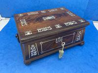 William IV Rosewood Box With Mother Of Pearl Inlay (14 of 14)