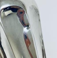 Pair of Antique Sterling Silver Trumpet Shaped Vases (11 of 12)
