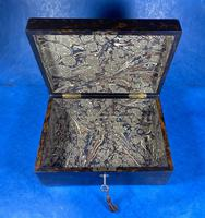Victorian Coromandel Box with Mother of Pearl Escutcheons (11 of 14)
