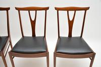 Set of 4 Vintage Dining Chairs in Rosewood & Afromosia (2 of 12)