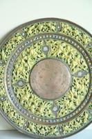 Indian Decorative Copper & Brass Tray (6 of 11)