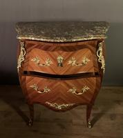 Small French Louis XVI Style Bombe Commode (3 of 12)