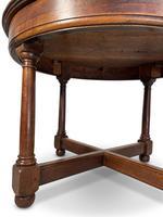 Circular Mahogany Centre Table (6 of 7)