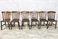 Matched Set of Six Victorian Windsor Lathback Chairs (2 of 8)