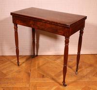 Mahogany Restoration Period Games Table 19th Century (3 of 11)